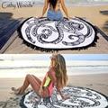 Microfiber Round Beach Towel Indian Mandala Towel Round Beach Throw Tapestry Hippy Gypsy Cotton Beach Mandala Blanket Towels