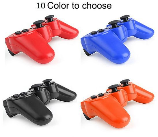 2 Psc 10 Color Bluetooth Wireless Game Controller For PS3 For PC