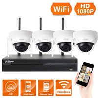 4Pcs Wireless IP Camera Network CCTV Camera Security Video Surveillance Kit 1080P P2P Digital Remote Indoor