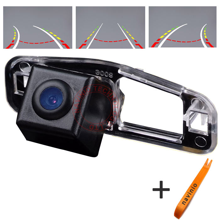 CCD car track Camera Directive Parking Assistance For Honda Spirior Car Rear View Reversing trajectory Back Up HD waterproof