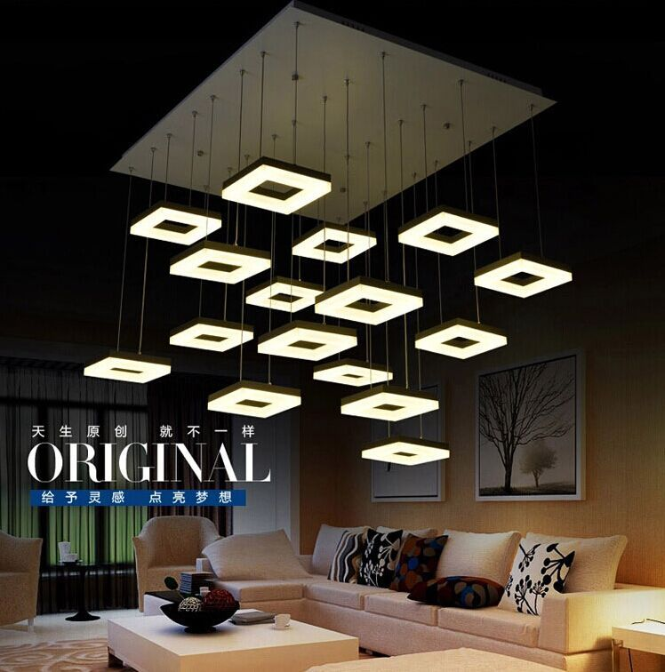 144W italian design led pendant lights modern house design led