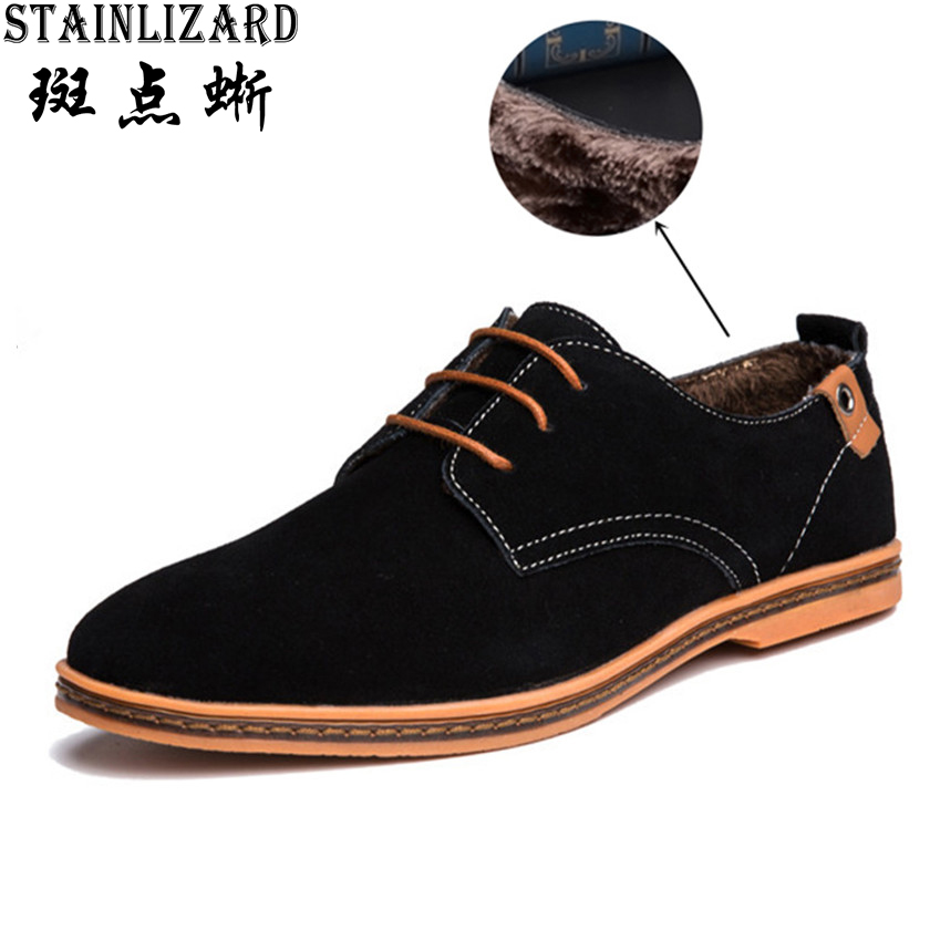 Hot Sale Men Boots Solid Plus velvet Fashion Winter Boots Lace-up Round Toe Men Casual Shoes Footwear Male Warm Flat Shoes SE001 hot sale men down parkas 2016 men thick coats casual men fashion outwears windproof men warm thick downs 5xl plus size quality