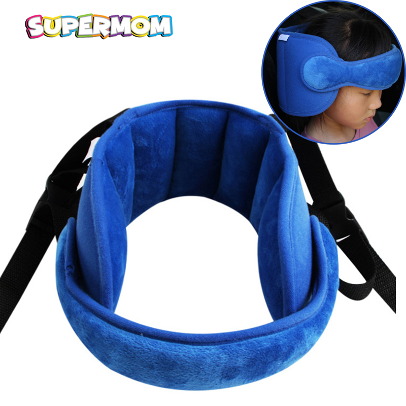Baby Head Fixed Sleeping Pillow Child Seat Head Supports Kid Neck Protection Car Safety Playpen Headrest Adjustable Support Pad