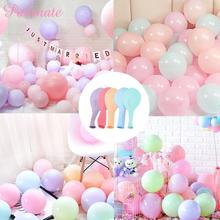 PATIMATE Round Wedding Balloons Decoration Latex Balloon Party Supplies Inflatable Ballons Birthday Helium Macaron Baloons