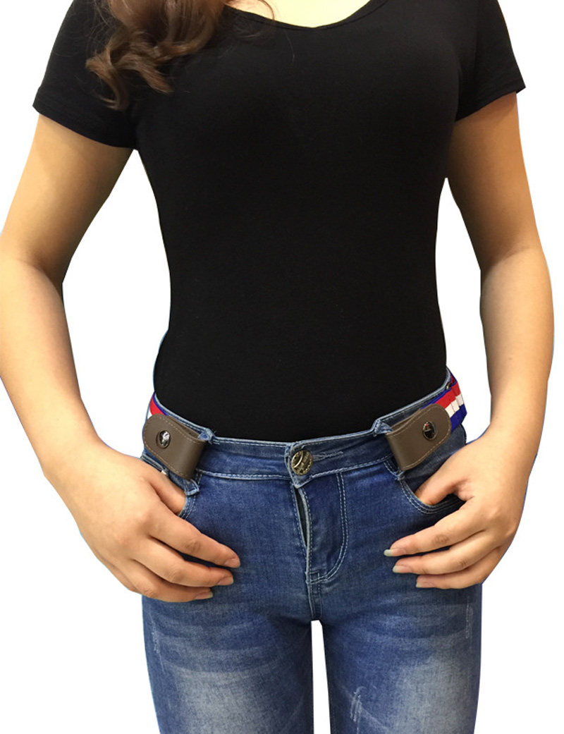 Buckle Free Elastic Belt