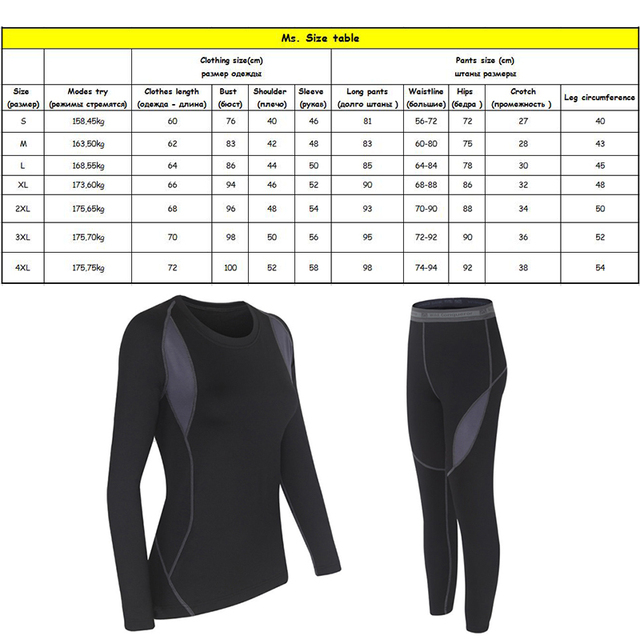 HAINES Thermal Underwear Women Winter Clothes Hot-Dry Technology Surface Thermo Underwear Women Long John sous vetement femme 5