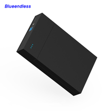 external hard drive 1TB/2TB/4TB portable high speed USB 3.0 case sata hdd enclosure support 3.5 hdd box tool free Blueendless