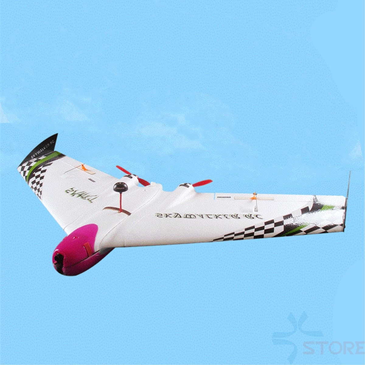 Skywalker SMART 996mm Wingspan EPO Flying Wing For FPV Racing or Long Range Flying RC Airplane Kit x uav mini talon epo 1300mm wingspan v tail fpv rc model radio remote control airplane aircraft kit