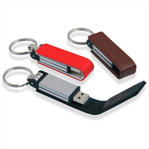 KEY Ring Business Leather USB 3.0 Flash Memory Stick Card Pen Drive 8GB-32GB Real Capacity USB Key 64GB 128GB 512GB 1TB 2TB Gift