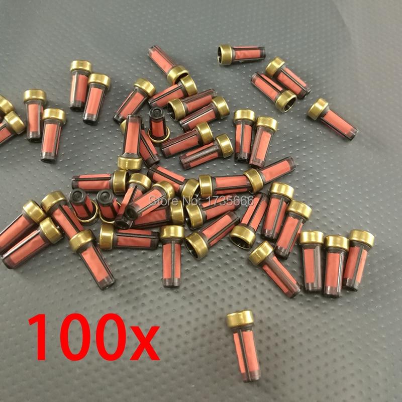 100PCS For Mitsubishi Shogun GDI / PININ V6 Petrol Fuel Pump Filter High Pressure Fuel Pump Filter MD619962 AY-F104B