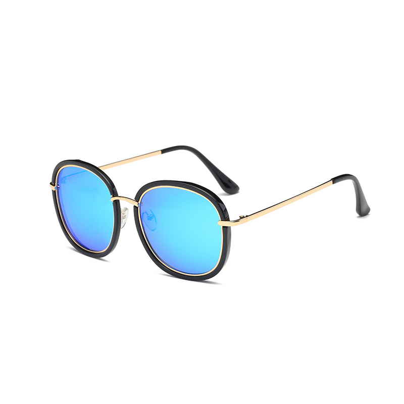 Image 5 - 2019 High Quality Square Polarized Sunglasses Women Brand Designer UV400 Sun Glasses Gold Frame sunglass Mirror Pink With Box-in Women's Sunglasses from Apparel Accessories