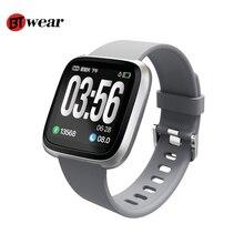 H108 Смарт-часы IP67 Водонепроницаемый Фитнес трекер монитор сердечного ритма крови Давление Для женщин мужские часы Smartwatch для IOS и Android