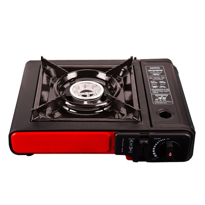 Portable plein air pique-nique Pot gaz Butane Portable cuisinière à gaz Camping randonnée pique-nique ensemble Camping poêle équipement pique-nique Applicable - 3
