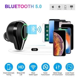 Image 4 - T9 tws verdadeiro fones de ouvido sem fio 7000 mah bluetooth 5.0 ipx7 à prova dwaterproof água com cancelamento ruído microfone