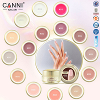 Gel Nail Polish Bling Canni Professional Nails UV Led Builder Clear Color Ongle Unhas De Gel