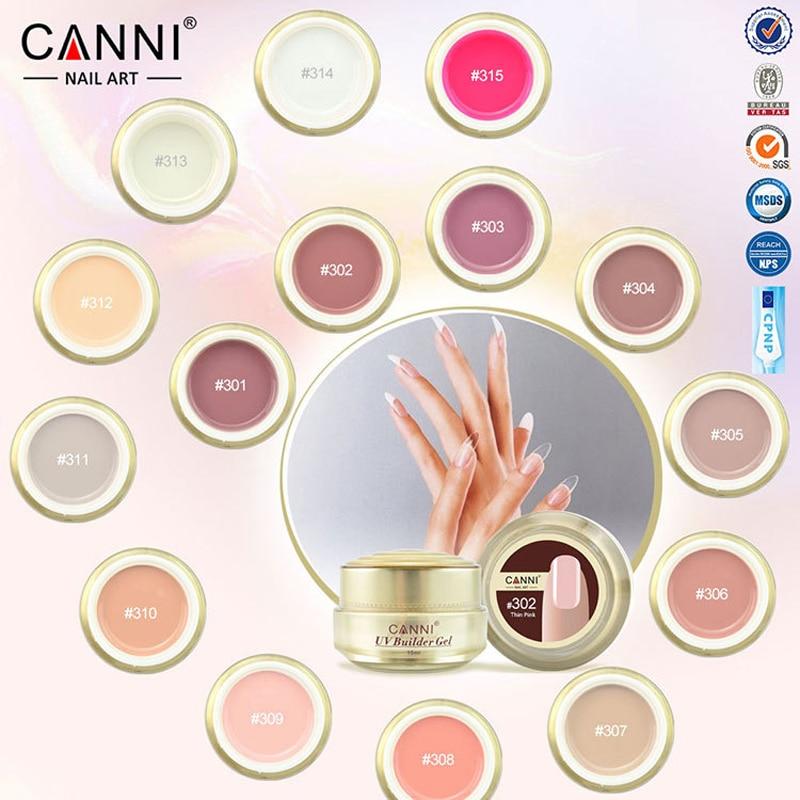 gel nail polish bling canni professional nails uv led builder clear color ongle unhas de gel. Black Bedroom Furniture Sets. Home Design Ideas