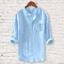 Мужская Новая Пляжная футболка модные хлопковые повседневные платья с длинным рукавом костюм для серфинга мужские удобные серфинг Футболка Camiseta surf 30J22