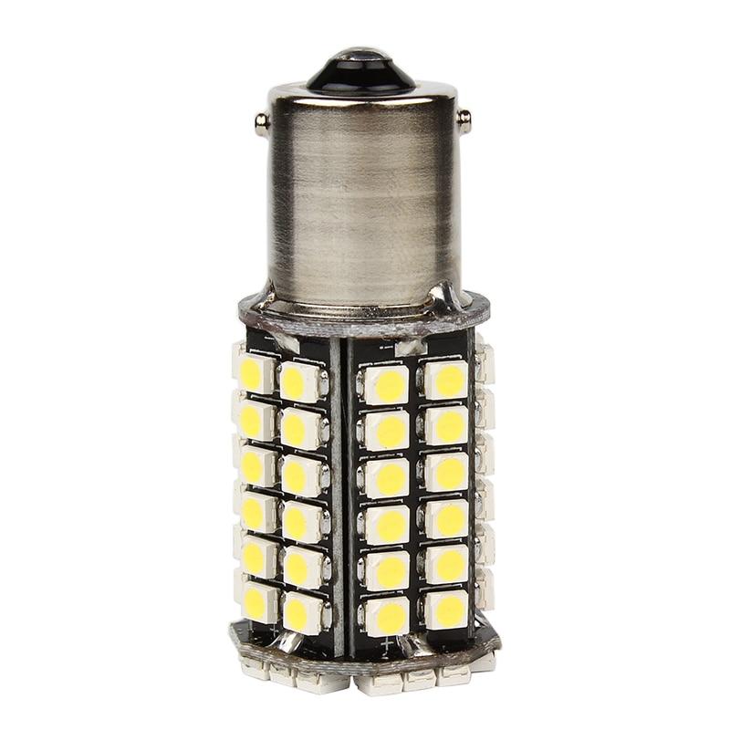 1156 BA15S Luzes de Sinalização de Cauda de Carro 80 SMD LED - Faróis do carro - Foto 3