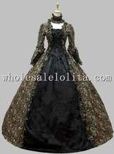 Period Victorian Gothic Dress