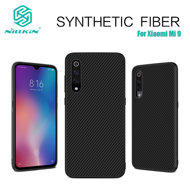 Nillkin Synthetic fiber Carbon PP Plastic Back Cover for xiaomi mi 9 case 6.39 ultra thin slim for xiaomi mi9 mi 9 global caseNillkin Synthetic fiber Carbon PP Plastic Back Cover for xiaomi mi 9 case 6.39 ultra thin slim for xiaomi mi9 mi 9 global case