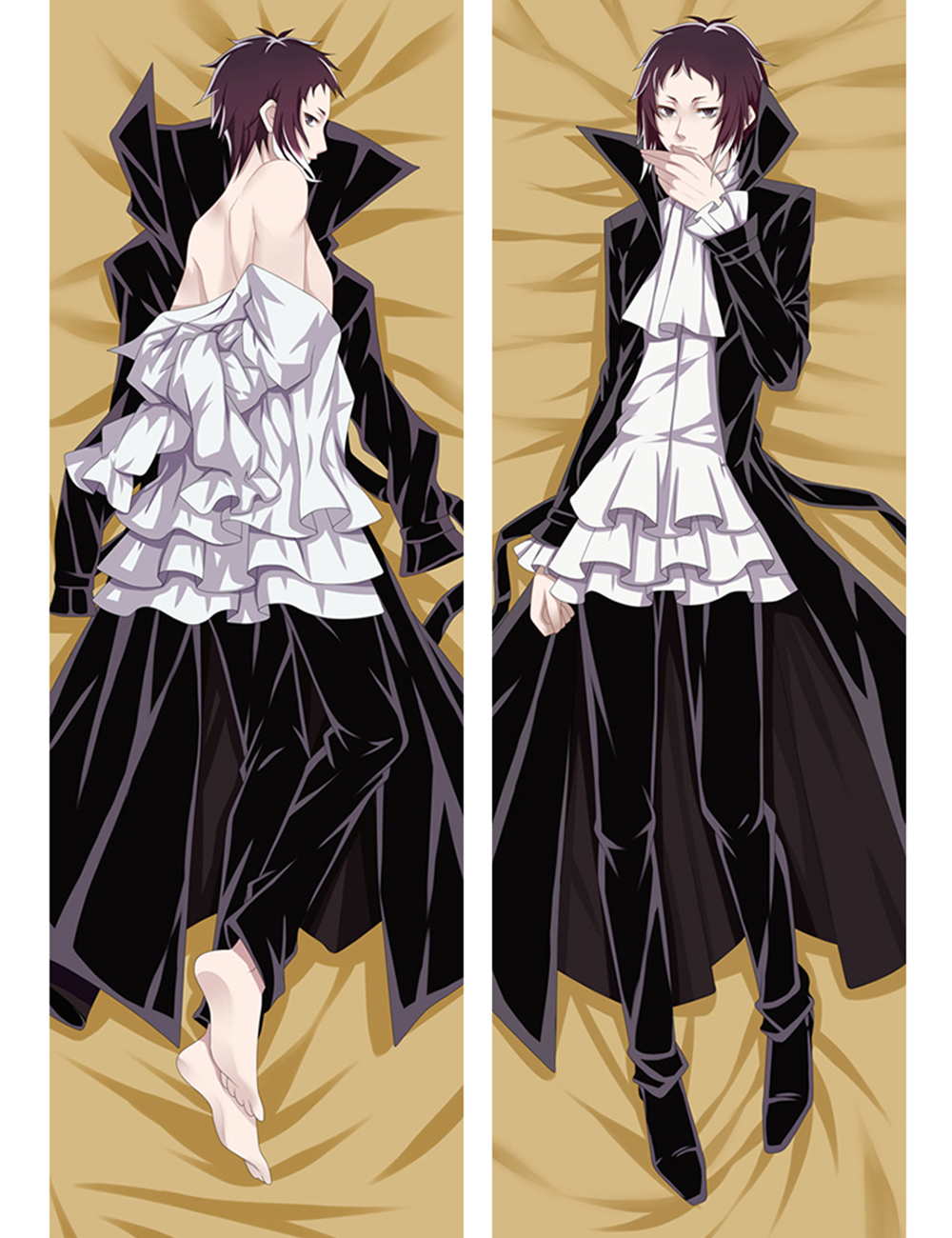 Bungou Stray Dogs Osamu Dazai male  Hugging Body Pillow Case Cover pillowcases bedding 68069 Платье