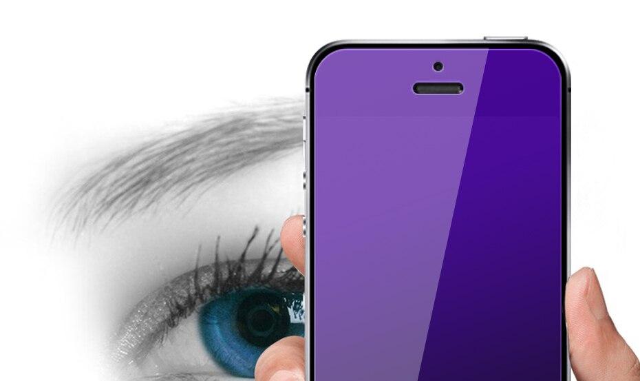 CHYI bez odcisków palców matowe szkło dla iphone 5s SE 5C ochraniacz ekranu oleofobowa powłoka 9 H dla iphone 7 8 plus xs Max XR szkło 31