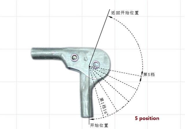 2 UNIDS/LOTE Ajustable-90 a 90 Grados de Ángulo De Ajuste Mecanismo de Bisagra Hardware Sofá Silla de Trinquete
