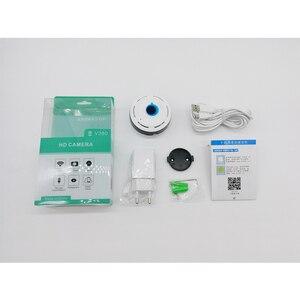 Image 5 - Cámara Wifi IP 360 grados VR casa panorámica inalámbrica Fisheye cámara de vídeo seguridad cámara de vigilancia IP tarjeta cámara interior