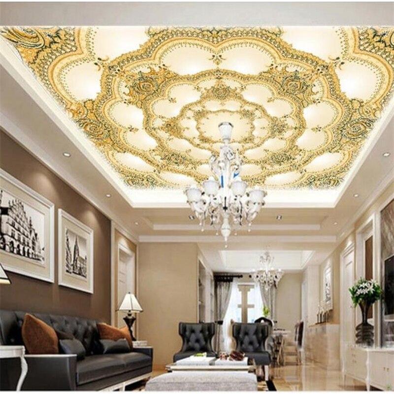 US $8.4 44% OFF|Wellyu Custom tapete 3D Stereo Foto wandmalereien Malerei  Europäischen Stil Rustikal Wohnzimmer Wandbild Design tapeten für wände 3  ...