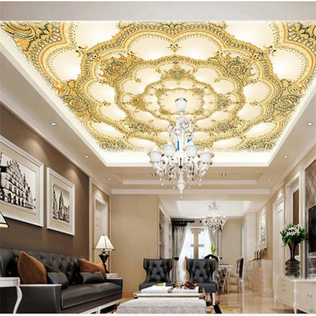 beibehang Custom wallpapers 3D Stereo Photo Wall Painting European ...