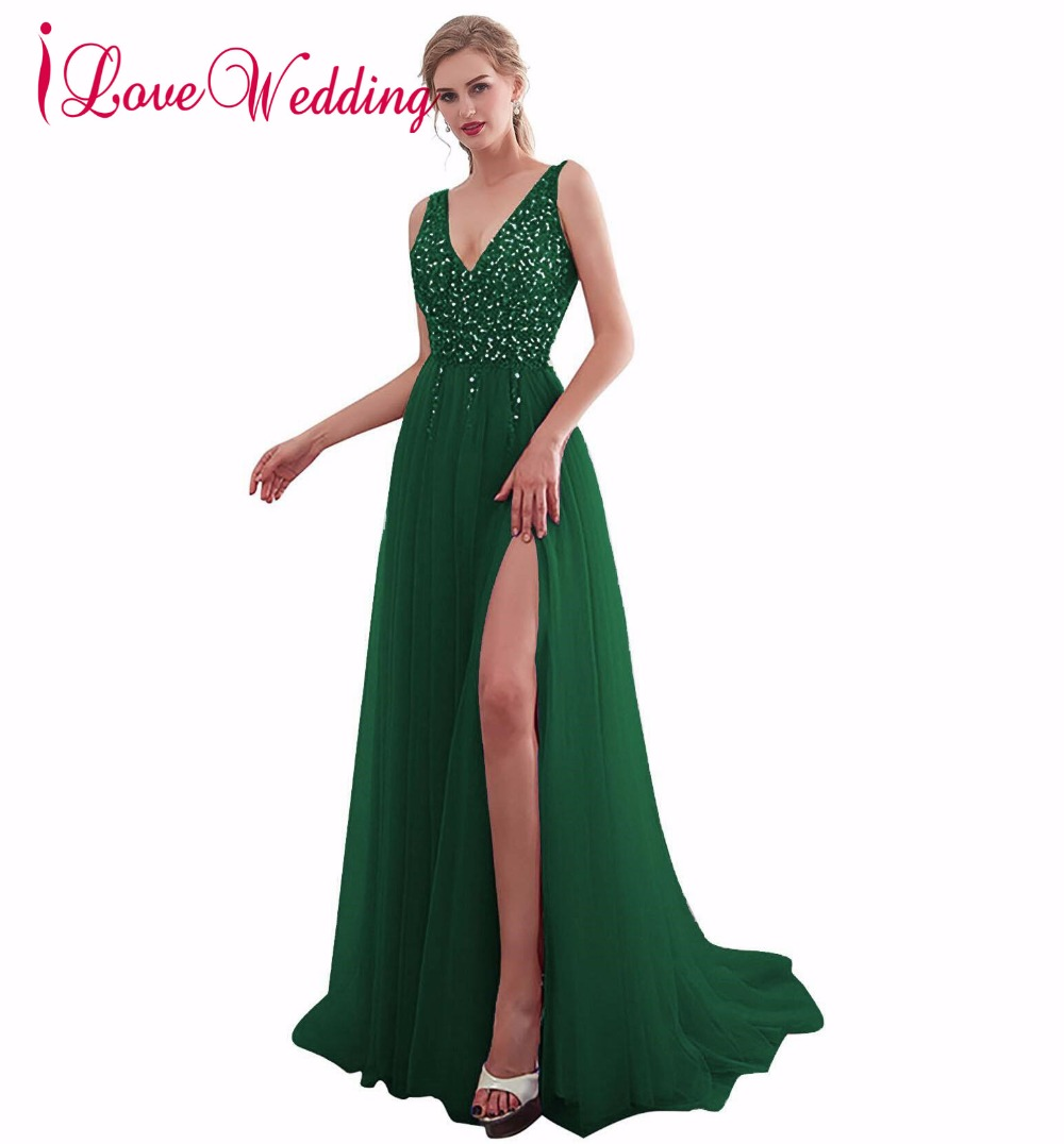 Prom Dresses New Arrival 2019 Sexy Prom Dresses Long Vestidos De Festa Deep V Neck Backless Beads Crystal Party Reception Dress Prom 30651