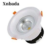 5 W 60 W ניתן לעמעום Led תקרת הנורה Dimmable LED Downlight שקוע LED ספוט מנורת אור Led פנל אור AC110 AC220V משלוח חינם