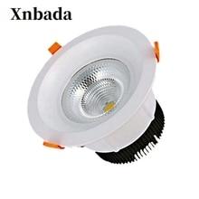 5 W 60 W regulable bombilla de techo Led Downlight LED regulable luz lez empotrada, lámpara de luz Led Panel de luz AC110 AC220V envío gratis