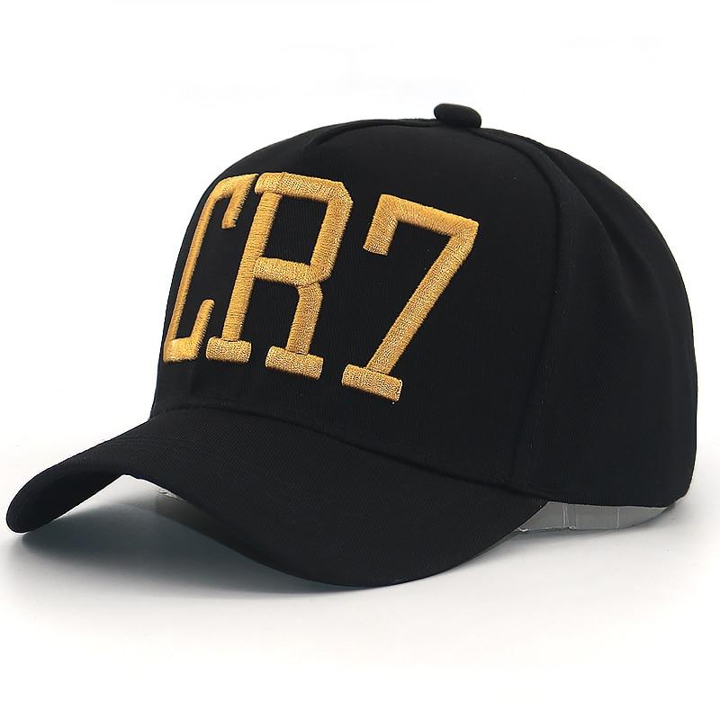 6629ba4e18cb3 Cristiano Ronaldo CR7 3D Embroidery Baseball Cap Cr7 Football Hat ...