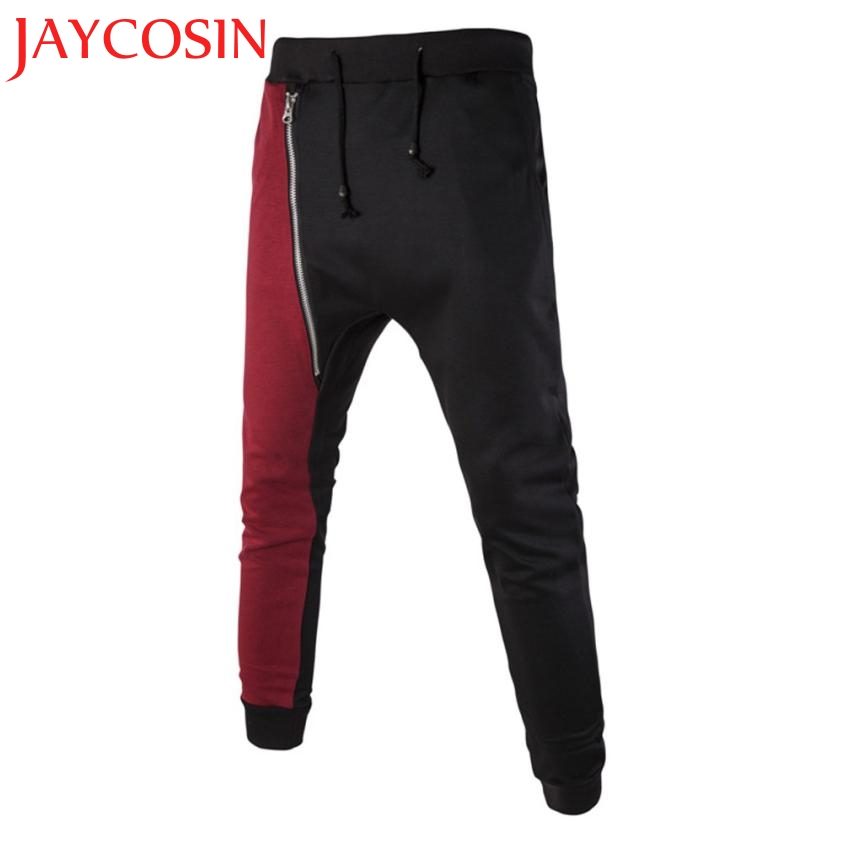 SIF Hot! Wonderful New Fashion Pants Men Casual Jogger Dance Suitable Baggy Pants Slacks Trousers Sweat Pants Drop Shipping 805