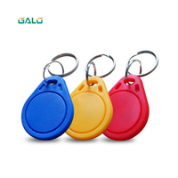 Keychain sticker card label key ID keychain access control EM keychain token portal reader 100 125khz RFID (multi color optional