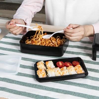 European creative portable single layer microwave box outdoor camping insurance 22*12.1*6cm free shipping