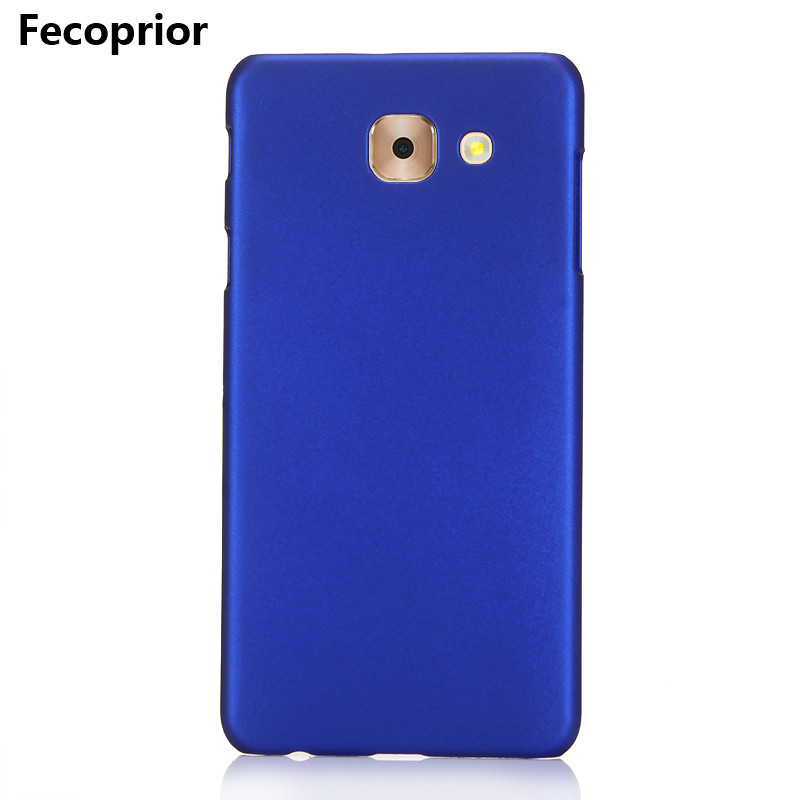 Fecoprior J7Max Hard PC Matte Case For Samsung Galaxy J7 Max Back Cover Armor Shield Smart Phone Fundas Coque Celulars