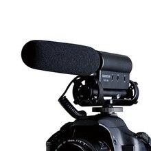 Venciere sgc-598 dv micrófono micrófono de la cámara slr micrófono estéreo