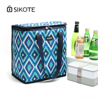 SIKOTE 22L Portable Cooler Bag for Picnic Thermal Bag Food Preservation Storage for Travel Women Bags Cooler Box Ice Pack