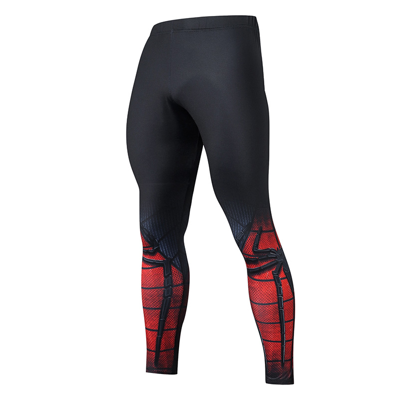 2019 Compression Pants Running Tights Men Training Pants Fitness Streetwear Leggings Men Gym Jogging Trousers Sportswear Pants 12