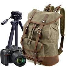 купить DSLR Camera Backpack Outdoor Camera Bag Large Capacity Travel Bag Waterproof Rucksack Detachable Inner  Photo Bags for Camera дешево