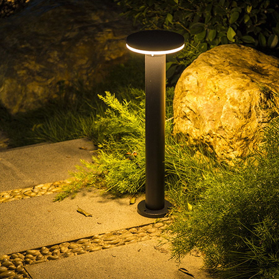 Thrisdar 40/60 CENTÍMETROS Paisagem Ao Ar Livre Lâmpada Do Gramado Villa Pátio Com Jardim Stand Pólo À Prova D' Água Luz Moderno Parque Comunidade Pós lâmpada