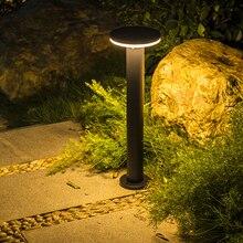 Уличная Ландшафтная газонная лампа Thrisdar 40/60 см, водонепроницаемая подставка для виллы, сада, двора, стойка, современный светильник для парка...