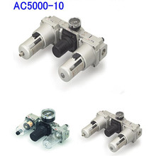 AC5000 3/4'' Pneumatic Air Source Treatment Units FRL Combination Compressed Aire Filter Regulator стоимость