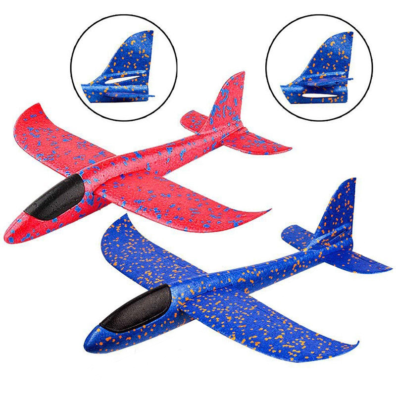 48cm Large Size Hand Throwing Airplane EPP Foam Flying Gliders Aircraft Kids Outdoor Camping Launch Glider Plane Toy (B0 image