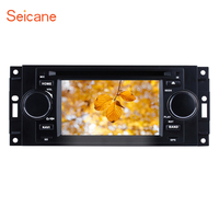 Seicane Universal 800*480 5 Windows CE 6.0 Bluetooth GPS Nav 1din Car DVD Stereo For JEEP Dodge Chrysler Intrepid support TPMS