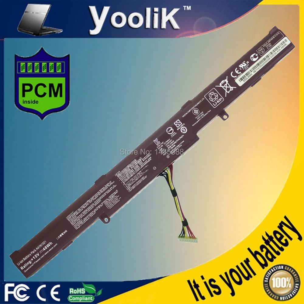 New A41LK9H A41N1501 battery for ASUS ROG G752VW GL752VW N552V N752V N552 series GL752 series