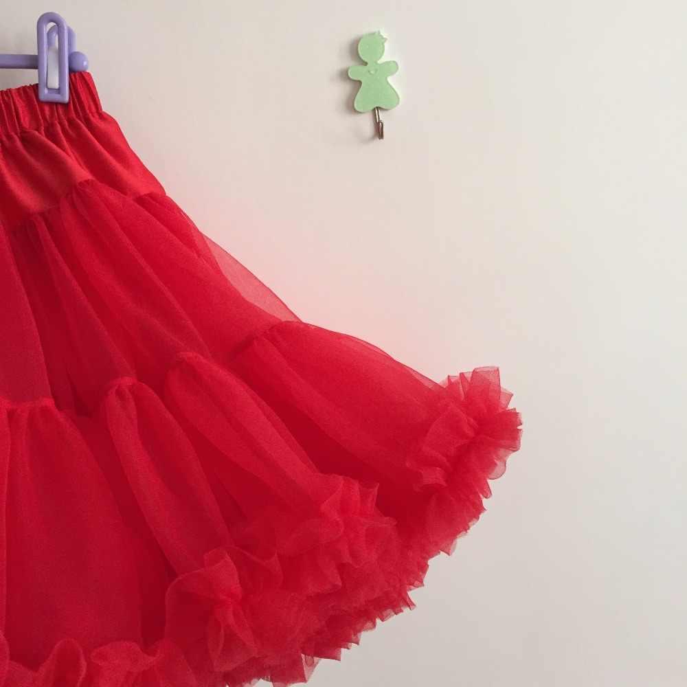 مصنع direcetly بيع أحدث أزياء أنيقة نمط الاطفال أزياء Pettiskirt فتاة الأحمر تنورة توتو تنورة ل الزفاف
