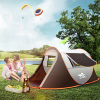 5 8 People Outdoor Full Automatic Instant Unfold Rain Proof Tent Family Multi Functional Portable Dampproof Camping Tent Suit
